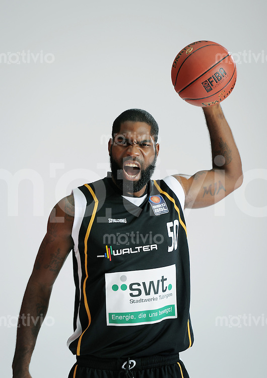 1. Basketball Bundesliga 2011/2012  21.08.2010 Walter Tigers Tuebingen   Kenny Williams (Tigers)