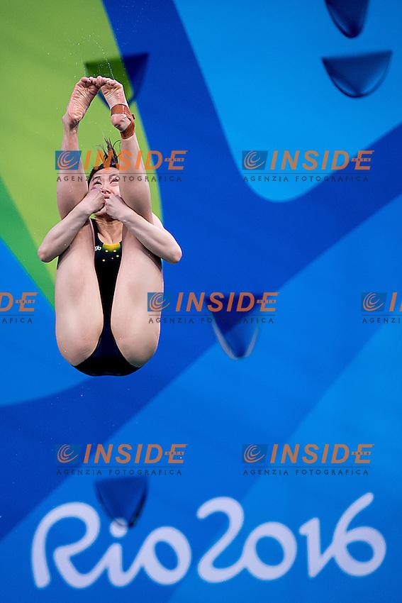 QIN Esther AUS<br /> 3m springboard women<br /> Rio de Janeiro  XXXI Olympic Games <br /> Olympic Aquatics Stadium <br /> diving preliminary round 13/08/2016<br /> Photo Giorgio Scala/Deepbluemedia/Insidefoto