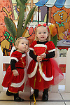 Aimee and Shauna Rice as Santa arrives at the Town Centre...(Photo credit should read Jenny Matthews www.newsfile.ie)....This Picture has been sent you under the conditions enclosed by:.Newsfile Ltd..The Studio,.Millmount Abbey,.Drogheda,.Co Meath..Ireland..Tel: +353(0)41-9871240.Fax: +353(0)41-9871260.GSM: +353(0)86-2500958.email: pictures@newsfile.ie.www.newsfile.ie.
