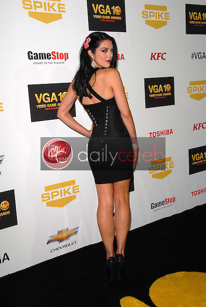 Adrianne Curry<br /> at Spike TV`S Video Game Awards 2012, Sony Pictures Studios, Culver City, CA 12-07-12<br /> David Edwards/DailyCeleb.com 818-249-4998