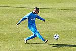 Nederland, Katwijk, 11 oktober  2012.Seizoen 2012-2013.Nederlandselftal.Training van Oranje.Ruben Schaken van Oranje in actie met de bal
