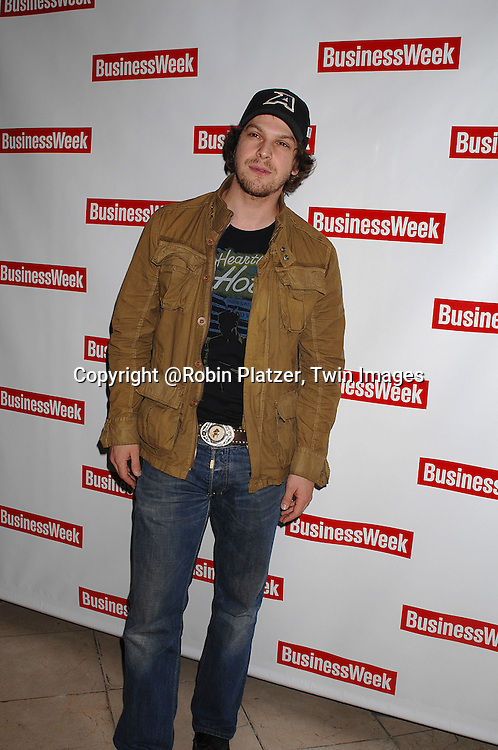 """Gavin DeGraw..at The BusinessWeek  party to celebrate the relaunch of the magazine on October 11, 2007 at..Guastavinos in New York City. The party celebrated """"What's Next"""" in various industries and businesses.....Robin Platzer, Twin Images....212-935-0770"""