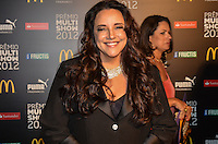 ATENCAO EDITOR: FOTO EMBARGADA PARA VEICULOS INTERNACIONAIS. - RIO DE JANEIRO, RJ,19 DE SETEMBRO 2012 - PREMIO MULTISHOW 2012- Ana Carolina na cerimonia de entrega do Premio Multishow  na noite desta terca dia 18 de setembro, no HSBC Arena, na Barra da Tijuca, zona oestedo Rio de Janeiro.(FOTO: MARCELO FONSECA / BRAZIL PHOTO PRESS).