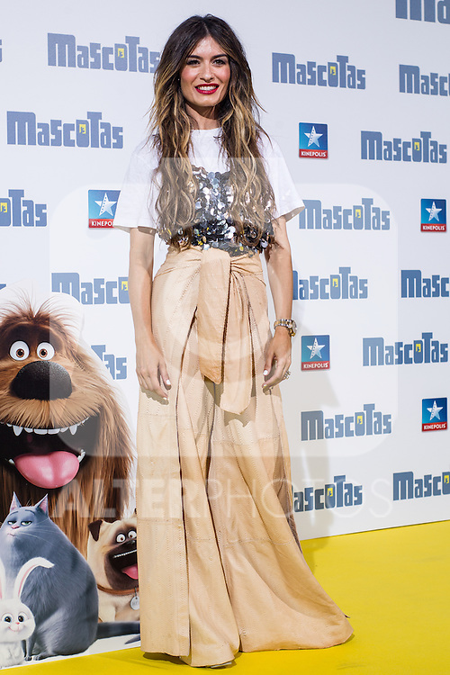 Spanish blogger Madame de Rosa during the premiere of  Mascotas at Kinepolis cinema in Madrid. July 21, 2016. (ALTERPHOTOS/Rodrigo Jimenez)