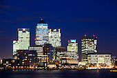 Canary Wharf - Blue Hour