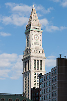 The Boston Custom House Tower, completed in 1915, has been converted for use as Marriott Vacation Club suites beginning in 1997