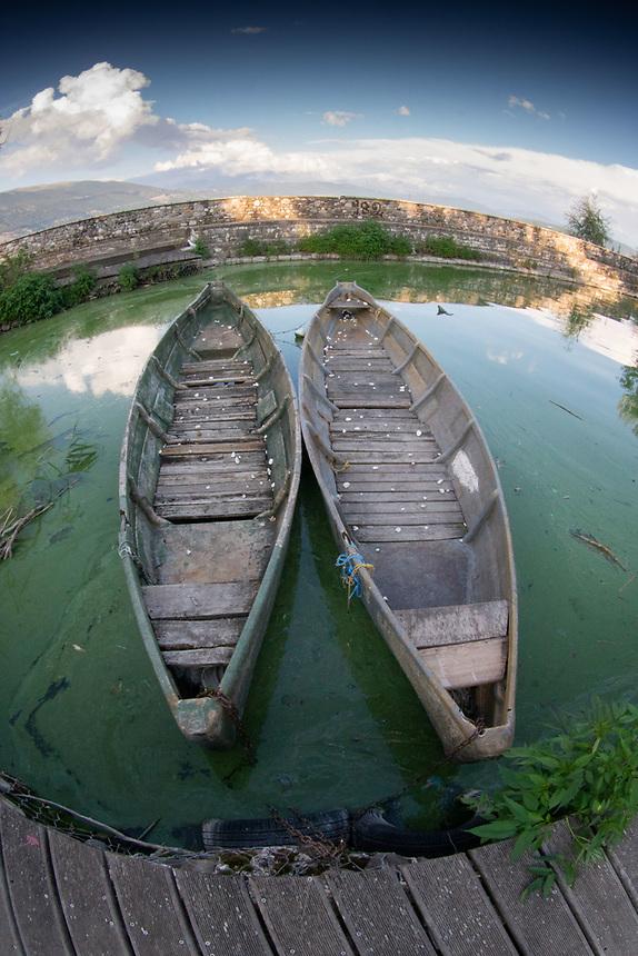 Lake Pamvotida, Ioannina, Epirus, Greece