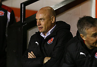Fleetwood Town Manager Uwe Rosler during the Sky Bet League 1 match between Walsall and Fleetwood Town at the Banks's Stadium, Walsall, England on 21 November 2017. Photo by Leila Coker.