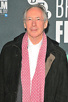 Ian McEwan at the 61st BFI LFF &quot;On Chesil Beach&quot; Love gala, Embankment Garden Cinema, Villiers Street, London, England, UK, on Sunday 08 October 2017.<br /> CAP/CAN<br /> &copy;CAN/Capital Pictures