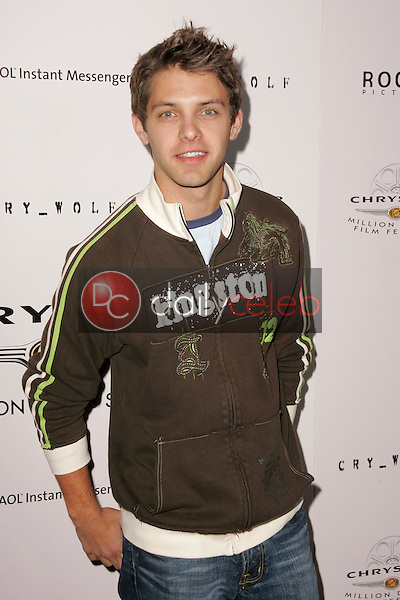 Ryan Devlin<br />at Chrysler Million Dollar Film Festival's VIP screening of Cry_Wolf. The Arclight Theaters, Hollywood, CA. 09-15-05<br />Dave Edwards/DailyCeleb.Com 818-249-4998