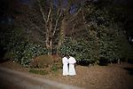 Tokyo, January 2011 - In Meiji-Jingu garden