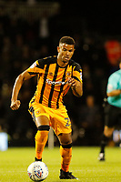 Fraizer Campbell of Hull City on the ball during the Sky Bet Championship match between Fulham and Hull City at Craven Cottage, London, England on 13 September 2017. Photo by Carlton Myrie.