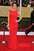 LOS ANGELES, CA - JANUARY 27: Maria Menounos at The 19th Annual Screen Actors Guild Awards at the Los Angeles Shrine Exposition Center in Los Angeles, California. January 27, 2013. Credit: mpi27/MediaPunch Inc.