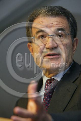 Belgium---Brussels--- Commission     17.09.2003.Romano PRODI, President of the european Commission..PHOTO: EUP-IMAGES.COM / ANNA-MARIA ROMANELLI