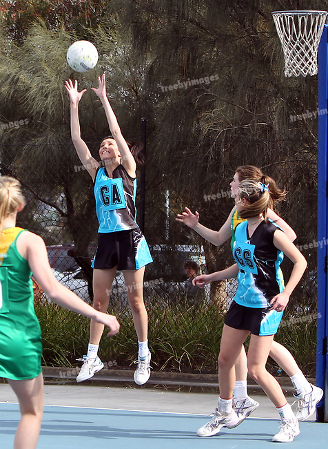 VIctorian Netball, VLine State League  8/10/2011<br /> Photo: Grant Treeby<br /> <br /> <br /> Editorial use only (No Archiving) Unless previously arranged