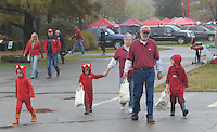 NWA Democrat-Gazette/ANDY SHUPE<br /> Arkansas and UT-Martin Saturday, Oct. 31, 2015, at Razorback Stadium in Fayetteville. Visit nwadg.com/photos to see more photographs from the game.