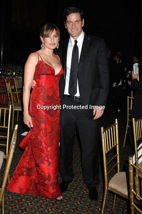 Mariska Hargitay and husband Peter Hermann..at The Fashion Group International 's Night of Stars Gala ..on October 26, 2006 at Cipriani 42nd Street. ..Robin Platzer, Twin Images