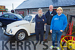 Mick O'Neill, Darren O'Brien and Gordon Cosgrave at the Mick O'Neill VW Club get together in Camps on Saturday.
