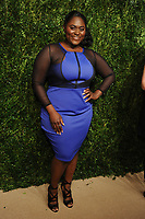 NEW YORK, NY - NOVEMBER 6: Danielle Brooks at the 14th Annual CFDA Vogue Fashion Fund Gala at Weylin in Brooklyn, New York City on November 6, 2017. <br /> CAP/MPI/JP<br /> &copy;JP/MPI/Capital Pictures
