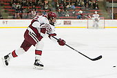 Devin Tringale (Harvard - 22) - The Harvard University Crimson tied the visiting Dartmouth College Big Green 3-3 in both team's first game of the season on Saturday, November 1, 2014, at Bright-Landry Hockey Center in Cambridge, Massachusets.