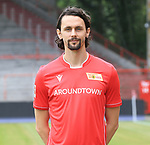 06.07.2019, Stadion an der Wuhlheide, Berlin, GER, 2.FBL, 1.FC UNION BERLIN , Mannschaftsfoto, Portraits, <br /> DFL  regulations prohibit any use of photographs as image sequences and/or quasi-video<br /> im Bild Neven Subotic (1.FC Union Berlin #63)<br /> <br /> <br />      <br /> Foto © nordphoto / Engler