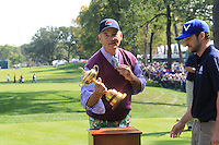 Ryder Cup 2012 Captains/Celebrity Scramble
