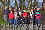 On a nature walk and speech in Listowel last Thursday as part of the launch of a Bio Diversity plan for the town park.