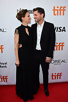 Hilary Swank, Philip Schneider at the 'What They Had' premiere during the 2018 Toronto International Film Festival at Roy Thomson Hall on September 12, 2018 in Toronto, Canada.<br /> CAP/KNM<br /> &copy;IkonMediia/Capital Pictures