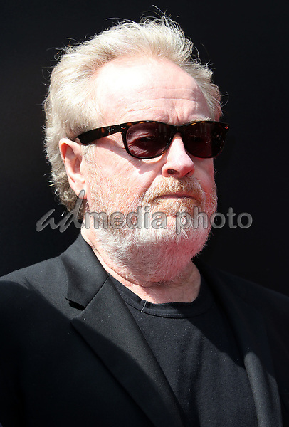 17 May 2017 - Hollywood, California - Sir Ridley Scott. Sir Ridley Scott Hand And Footprint Ceremony. Photo Credit: AdMedia
