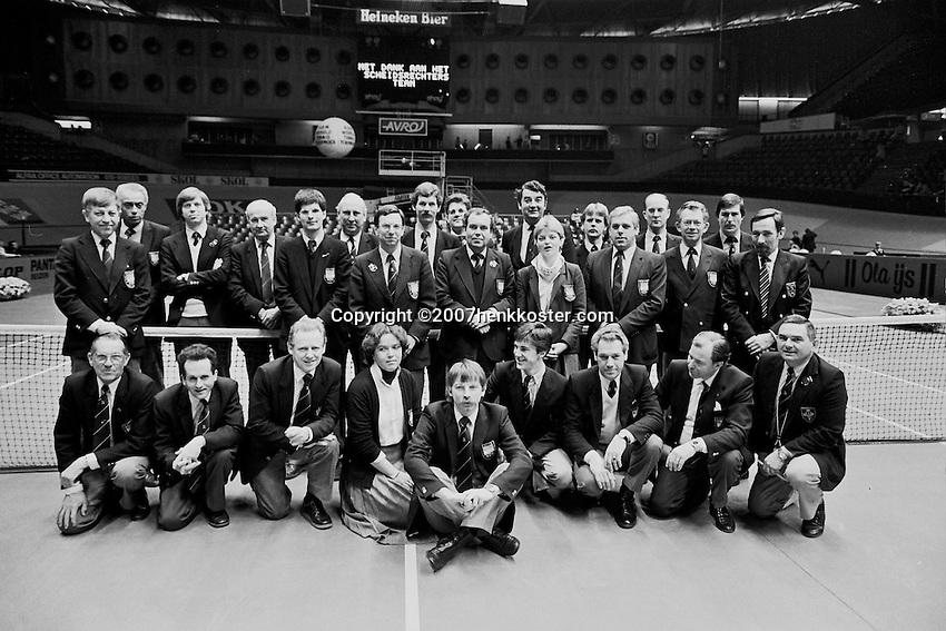 1984, ABN WTT, Scheidsrechters