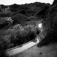 La strada comunale La Colma in direzione Varallo