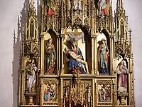 Hauptaltar im Dom St. Martin, Bratislava, Bratislavsky kraj, Slowakei, Europa<br /> Main altar in Cathedral St. Martin, Bratislava, Bratislavsky kraj, Slovakia, Europe