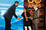 Marc Gasol during the 80th Aniversary of the National Basketball Team at Melia Castilla Hotel, Spain, September 01, 2015. <br /> (ALTERPHOTOS/BorjaB.Hojas)