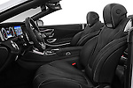 Front seat view of 2017 Mercedes Benz S-Class AMG-Line 2 Door Convertible Front Seat  car photos