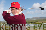 Golf Girl:    Emma Driscoll, at the Ballybunion Golf Club on Monday. The 15 year golfer from Cork is a member of the Ballybunion Golf Club and is the Munster representative in the Irish team heading to the golfing competition in Craiglaw, Scotland  in April..