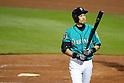 MLB: Ichiro Suzuki of Seattle Mariners: Spring training game