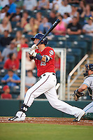 Fort Myers Miracle first baseman Bryan Haar (23) at bat during a game against the Daytona Tortugas on June 17, 2015 at Hammond Stadium in Fort Myers, Florida.  Fort Myers defeated Daytona 9-5.  (Mike Janes/Four Seam Images)