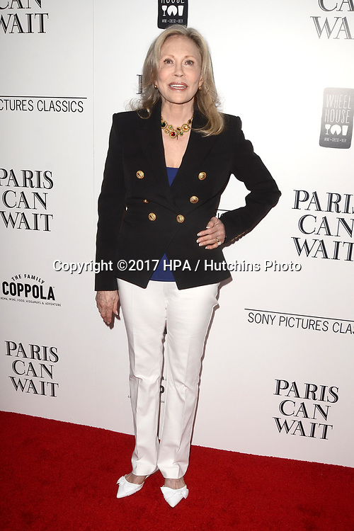 """LOS ANGELES - MAY 11:  Faye Dunaway at the """"Paris Can Wait"""" Los Angeles Special Screening at the Pacific Design Center on May 11, 2017 in West Hollywood, CA"""