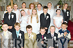 8702-8705.Children of Ballybunion NS who made their First Holy Communion in St John's Church, Ballybunion on Saturday were Laura Rohan, Rachel Stack, Sarah O'Connor, David Hennessy, Padraig Holly, Philip Byrne, Darragh Kissane, Grace McCarthy, Lily Templeton, Kerri Anne Williams Kissane, Lily Belle Beauseigneur, Jamie Hannan, Fionnan Toomey, Gavin Casey, Anna May Wall, David Gerard Hennessy and Mike Hannon.
