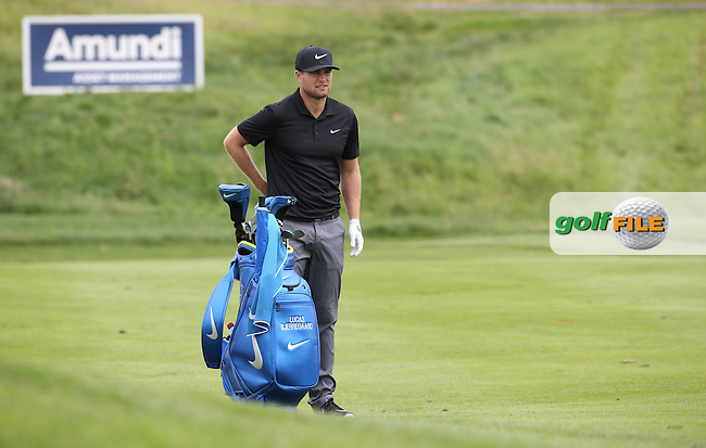 Lucas Bjerregaard (DEN) during the Wednesday Pro-Am ahead of the 100th Open de France, played at Le Golf National, Guyancourt, Paris, France. 29/06/2016. Picture: David Lloyd | Golffile.<br /> <br /> All photos usage must carry mandatory copyright credit (&copy; Golffile | David Lloyd)