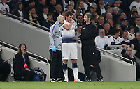 Tottenham Hotspur's Jan Vertonghen prepares to come back onto the pitch after receiving treatment <br /> <br /> Photographer Rob Newell/CameraSport<br /> <br /> UEFA Champions League - Tottenham Hotspur v Ajax - Tuesday 30th April 2019 - White Hart Lane - London<br />  <br /> World Copyright © 2018 CameraSport. All rights reserved. 43 Linden Ave. Countesthorpe. Leicester. England. LE8 5PG - Tel: +44 (0) 116 277 4147 - admin@camerasport.com - www.camerasport.com