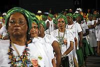 RIO DE JANEIRO - RJ  11 DE FEVEREIRO DE 2012. ENSAIO TÉCNICO DA ESCOLA DE SAMBA IMPERATRIZ LEOPOLDINENSE - Na noite de sábado (11) a escola de samba Imperatriz Leopoldinense faz seu ensaio técnico na Marques de Sapucaí, situado no sambódromo no centro da cidade do Rio de Janeiro.FOTO: RONALDO BRANDAO - NEWS FREE.