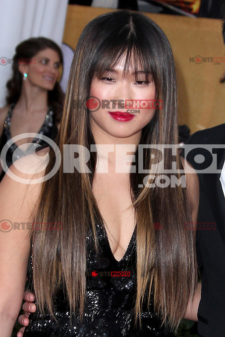 LOS ANGELES, CA - JANUARY 27: Jenna Ushkowitz at The 19th Annual Screen Actors Guild Awards at the Los Angeles Shrine Exposition Center in Los Angeles, California. January 27, 2013. Credit: MediaPunch Inc. /NortePhoto /NortePhoto