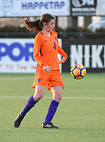 20180326 - VEEN , THE NETHERLANDS : Dutch Floor van Loon   pictured during the UEFA Women Under 17 Elite round game between The Netherlands WU17 and Portugal WU17, on the second matchday in group 1 of the Uefa Women Under 17 elite round in The Netherlands , monday 26 th March 2018 . PHOTO SPORTPIX.BE    DIRK VUYLSTEKE