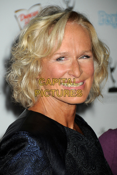 GLENN CLOSE.Emmy Awards Nominee Reception held at the Pacific Design Center, West Hollywood, California, USA..27th August 2010.headshot portrait navy blue black .CAP/ADM/BP.©Byron Purvis/AdMedia/Capital Pictures.