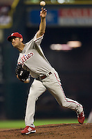 Hamels, Cole 5682.jpg Philadelphia Phillies at Houston Astros. Major League Baseball. September 6th, 2009 at Minute Maid Park in Houston, Texas. Photo by Andrew Woolley.
