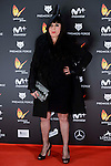 Rossy de Palma attends to the Feroz Awards 2017 in Madrid, Spain. January 23, 2017. (ALTERPHOTOS/BorjaB.Hojas)