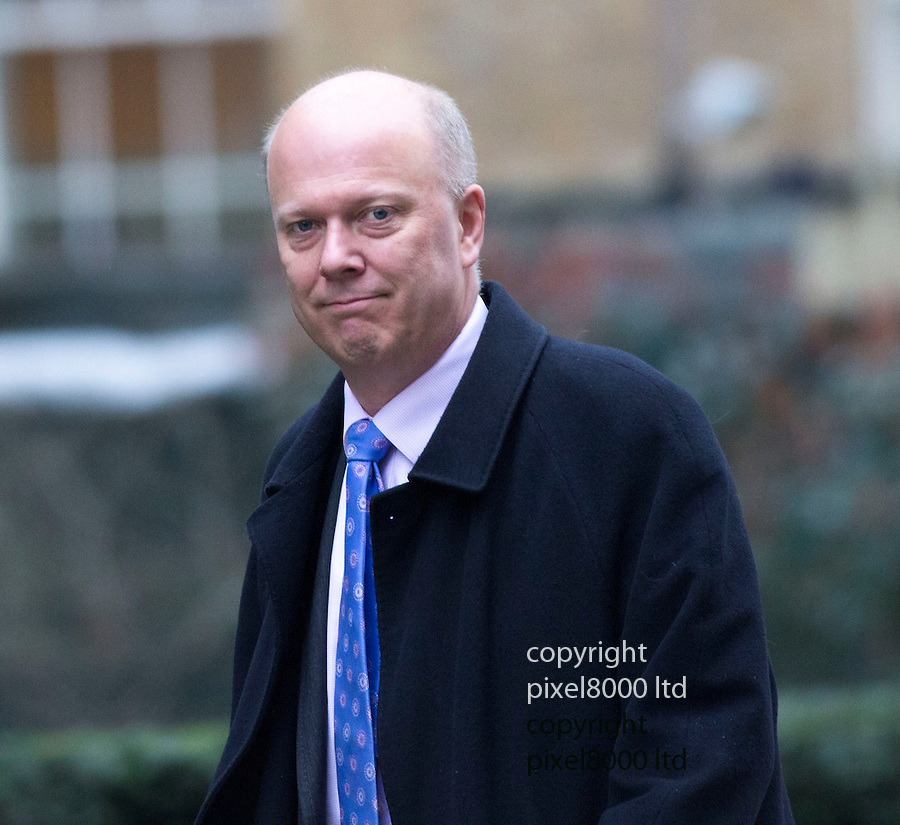 Day before the Budget 2013J..Chris Grayling outside Downing Street today 19.3.13.....Pic by Gavin Rodgers/Pixel 8000 Ltd