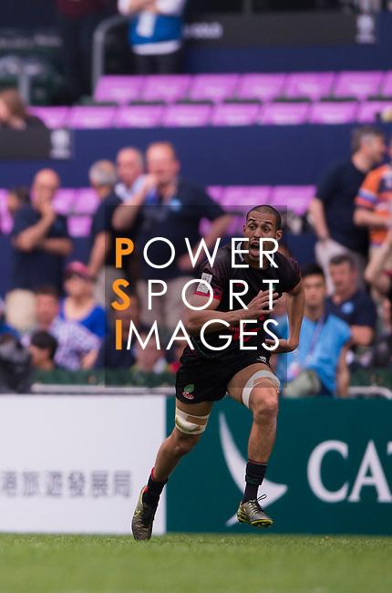 Japan VS Morocco during    HSBC Hong Kong Rugby Sevens 2016on 08 April 2016 at Hong Kong Stadium in Hong Kong, China. Photo by Li Man Yuen / Power Sport Images