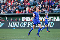 Portland, OR - Saturday May 06, 2017: Alyssa Mautz during a regular season National Women's Soccer League (NWSL) match between the Portland Thorns FC and the Seattle Reign FC at Providence Park.